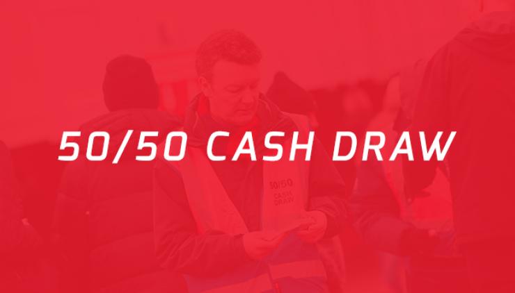 50/50 Cash Draw