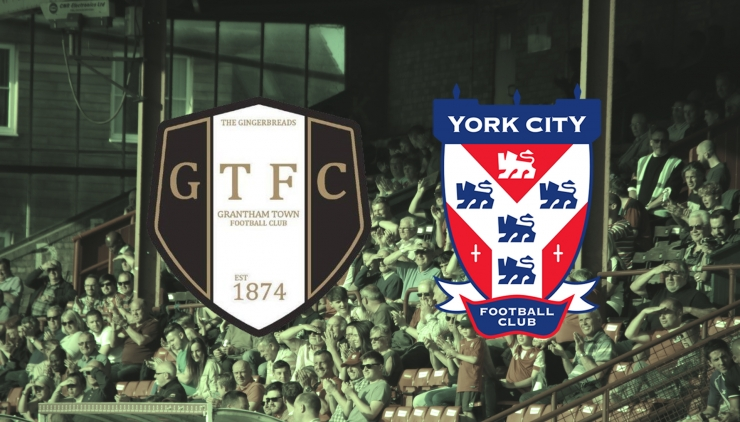 Grantham Town v York City